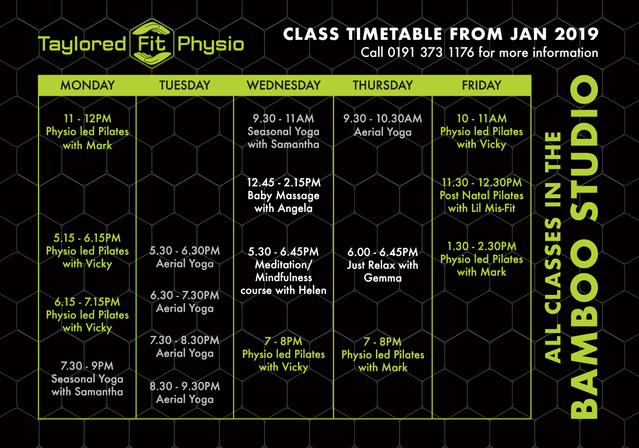 Class Timetable Image