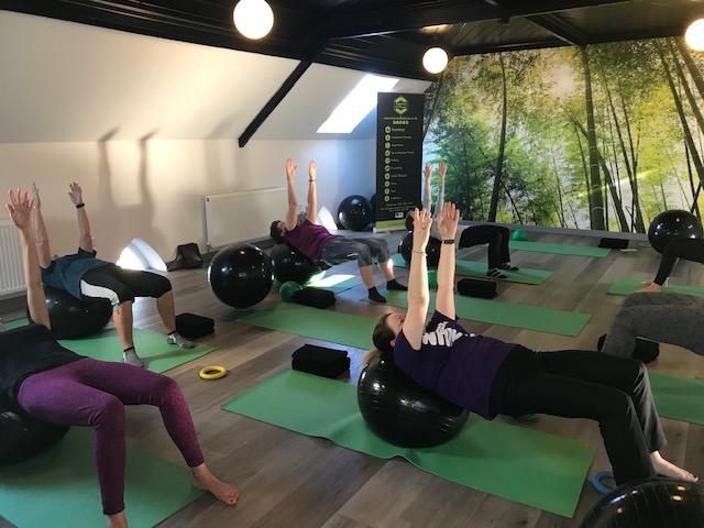 pilates class at tayloredfit physio