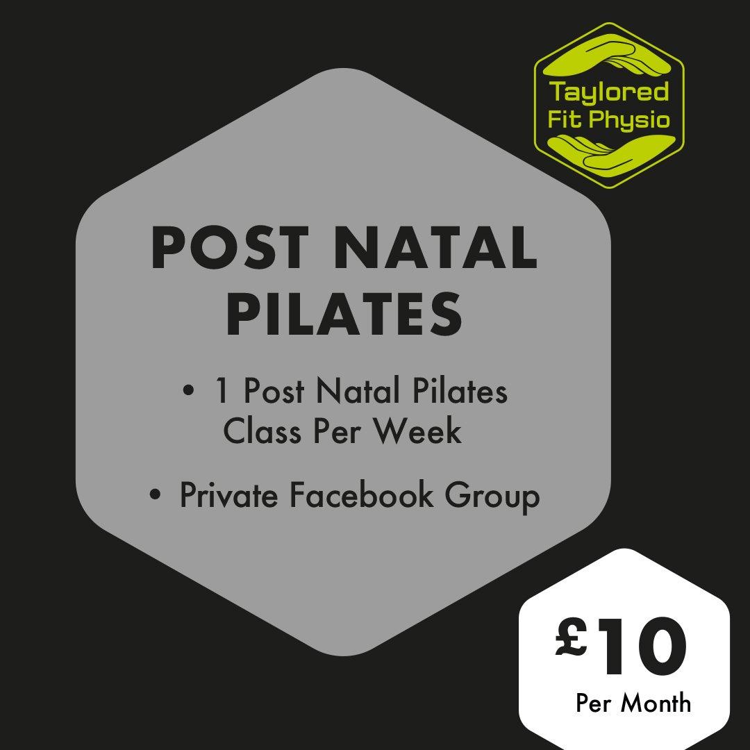 Post Natal Pilates SM 0620