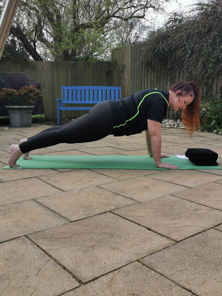 online pilates Tayloredfit Physio